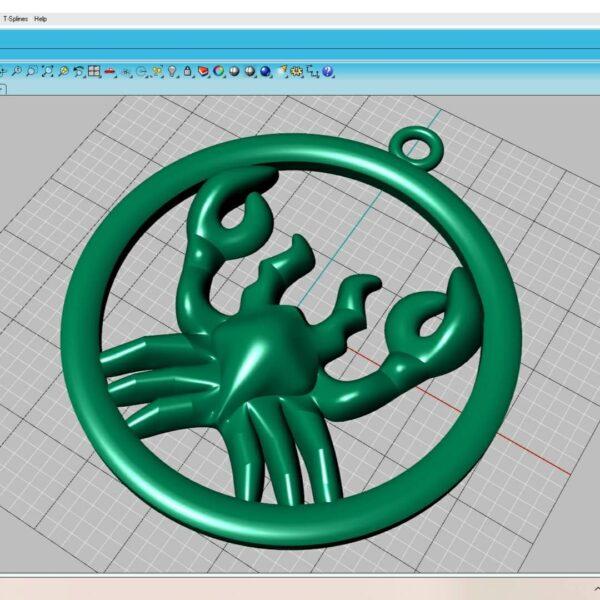Thiết kế chế tác mặt dây chuyền bạc theo mẫu riêng